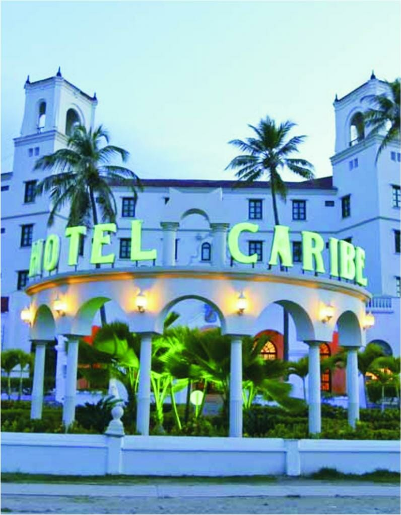 hotel caribe cartagena fachada