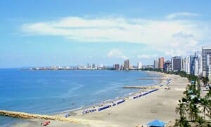 playa bocagrande cartagena