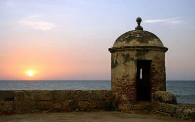 murallas cartagena colombia