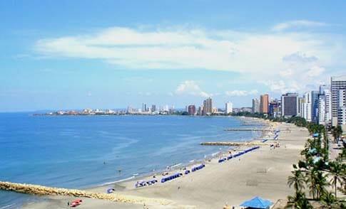 playa bocagrande cartagena